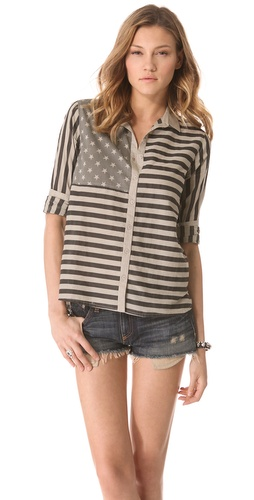Swildens Goodbye Button Down Top