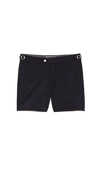 Swim-Ology Solid Swim Trunks