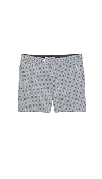 Swim-Ology Square Dot Print Swim Trunks