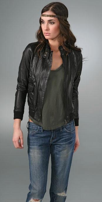 S.W.O.R.D Padua Leather Jacket