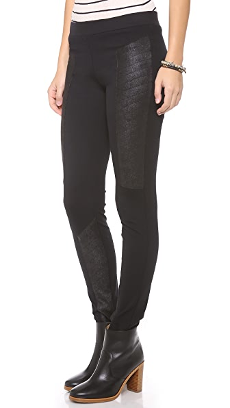SW3 Bespoke Fleetwood Quilted Leggings