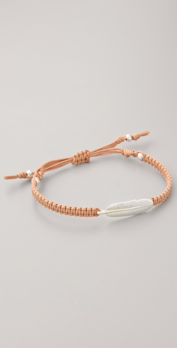 Tai Feather Charm Bracelet