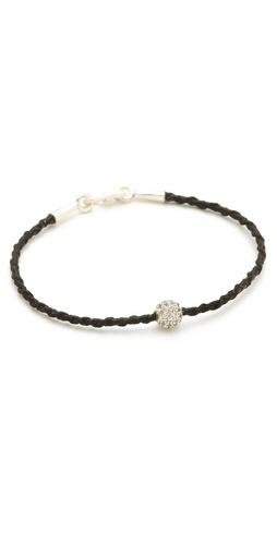 Tai Pave Ball Charm Bracelet