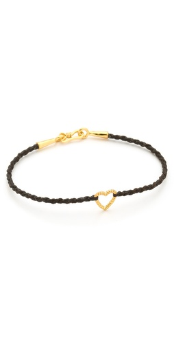 Tai Open Heart Charm Bracelet