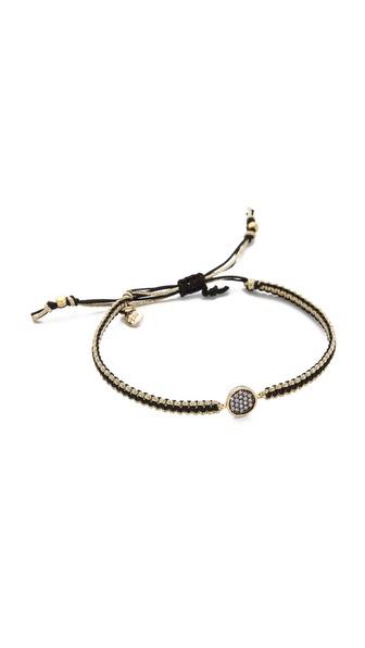 Tai Pave Disc Charm Bracelet