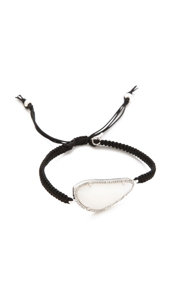 Tai Large Pave Stone Bracelet