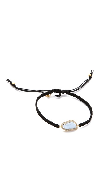Tai Small Pave Stone Bracelet