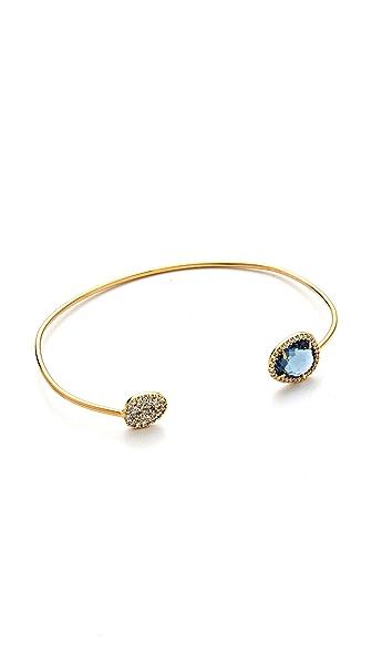 Tai Asymmetrical Pave Bracelet