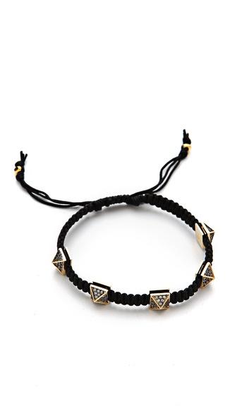 Tai Pyramid Spike Bracelet