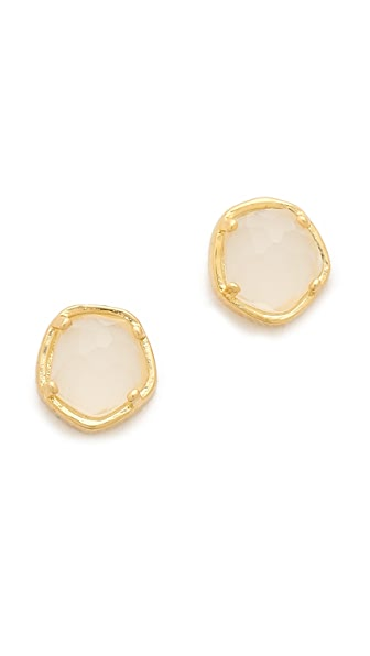 Tai Stone Stud Earrings