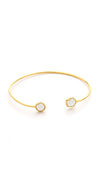 Tai Duel Crystal Bangle Bracelet