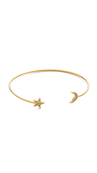 Tai Star & Moon Bangle Bracelet