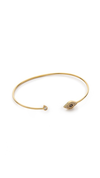 Tai Evil Eye Open Bangle Bracelet