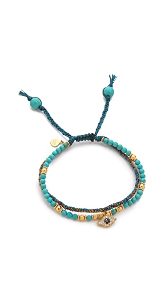 Tai Evil Eye Beaded Bracelet