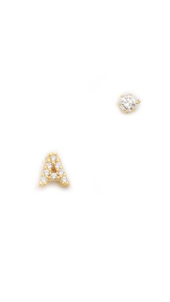 Tai Alphabet Earrings