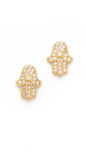 Tai Hamsa Stud Earrings