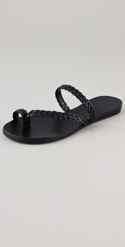 Tapeet Braided Flat Sandals