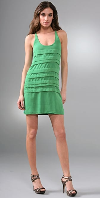 Tbags Los Angeles Pintuck Dress