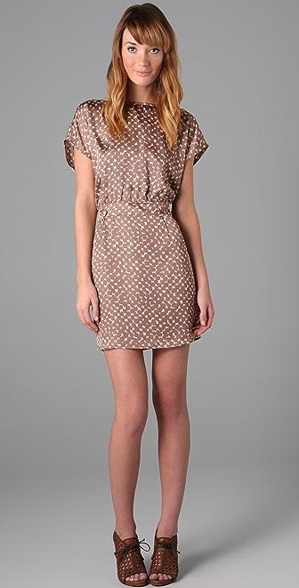 Tbags Los Angeles Print Mini Dress