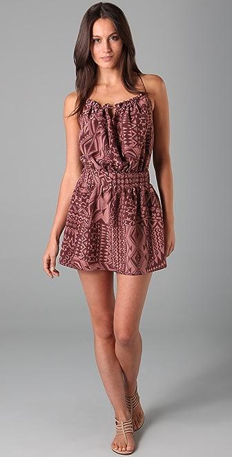 Tbags Los Angeles Printed Mini Dress