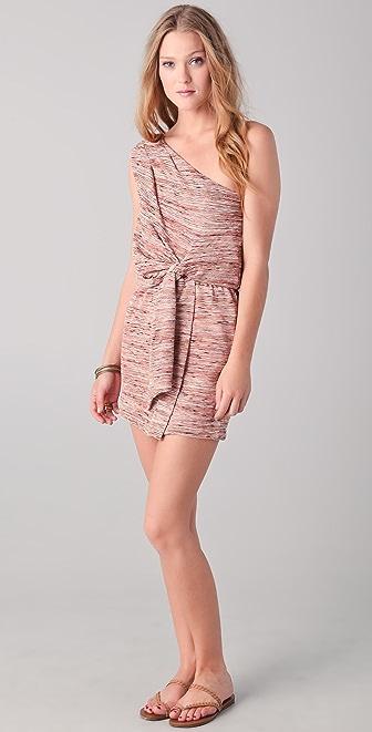 Tbags Los Angeles One Shoulder Mini Dress