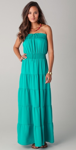 Tbags Los Angeles Serafina Strapless Dress