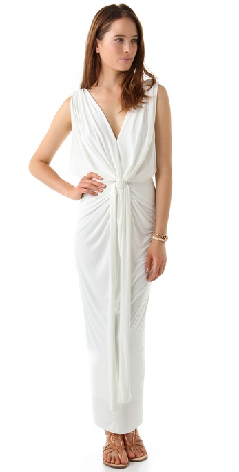 Tbags Los Angeles Stretch Maxi Dress