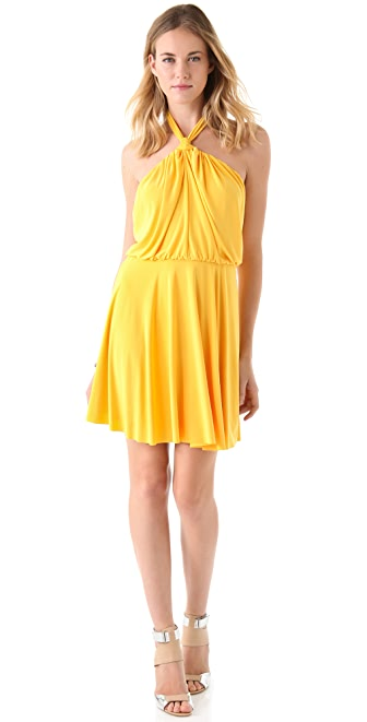 Tbags Los Angeles Halter Dress