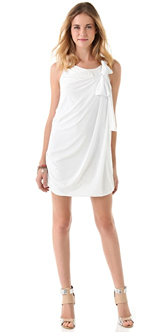 Tbags Los Angeles Side Bow Mini Dress