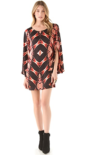Tbags Los Angeles Split Sleeve Dress