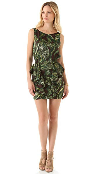 Tbags Los Angeles Peplum Dress