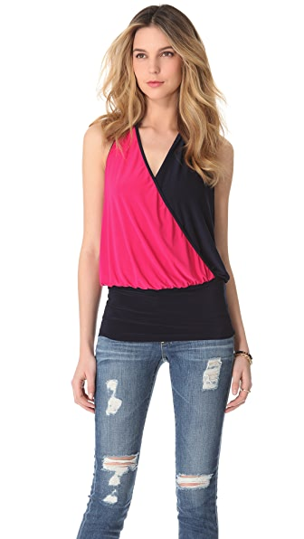 Tbags Los Angeles Halter Neck Top
