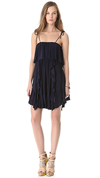 Tbags Los Angeles Ruffled Dress