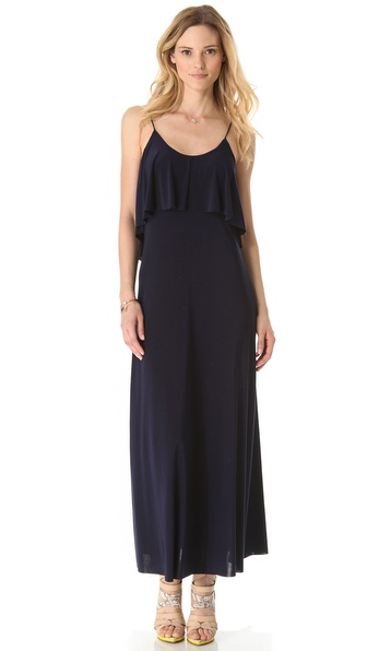 Tbags Los Angeles Open Back Maxi Dress