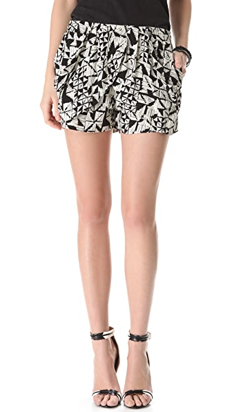 Tbags Los Angeles Print Shorts