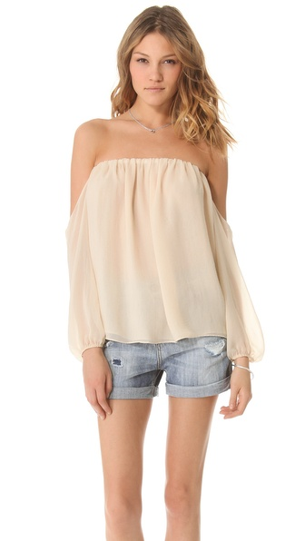 Tbags Los Angeles Off the Shoulder Blouse from shopbop.com