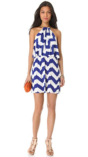 Tbags Los Angeles Layers Mini Dress