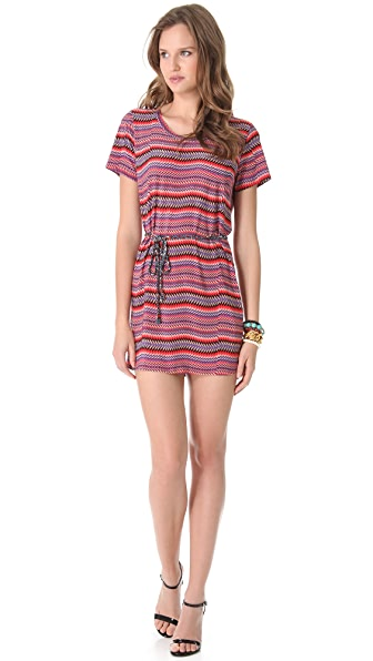 Tbags Los Angeles Tie Waist Dress