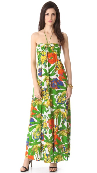 Tbags Los Angeles Bright Maxi Dress