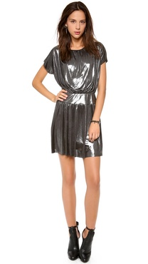 Tbags Los Angeles Short Sleeve Mini Dress