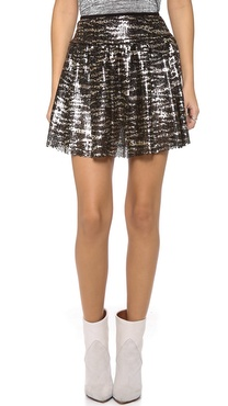 Tbags Los Angeles Sequin Skirt