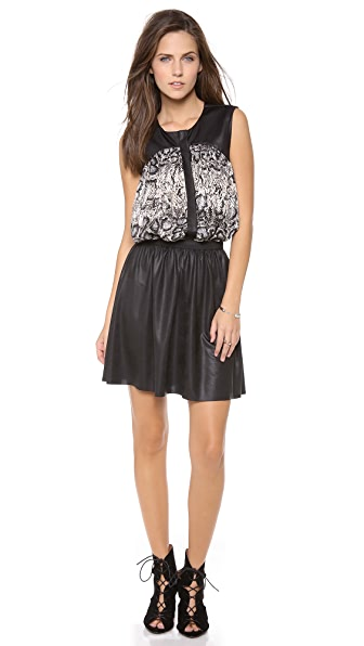 Tbags Los Angeles Exotic Snakeskin Dress
