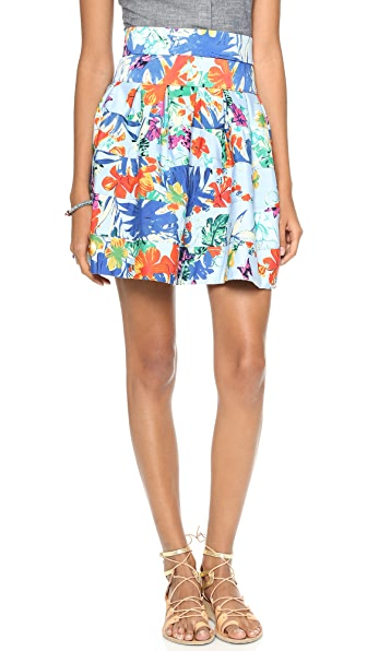 Tbags Los Angeles Drop Waist Full Skirt