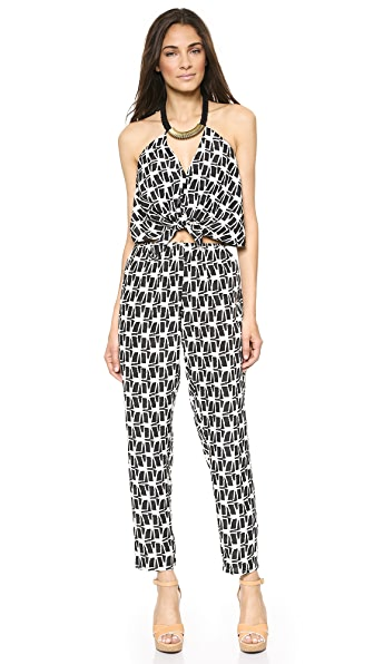 Tbags Los Angeles Convertible Jumpsuit