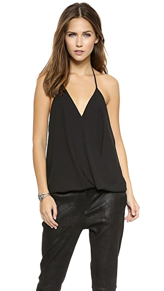 Tbags Los Angeles V Neck Blouse