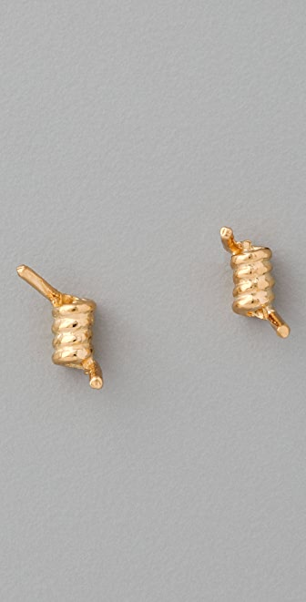 TOM BINNS Barricade Babe Barb Wire Studded Earring