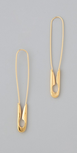 TOM BINNS Safety Binns Safety Pin Earrings