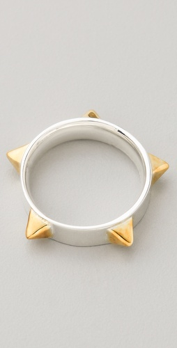 TOM BINNS Protopunk Spike Ring