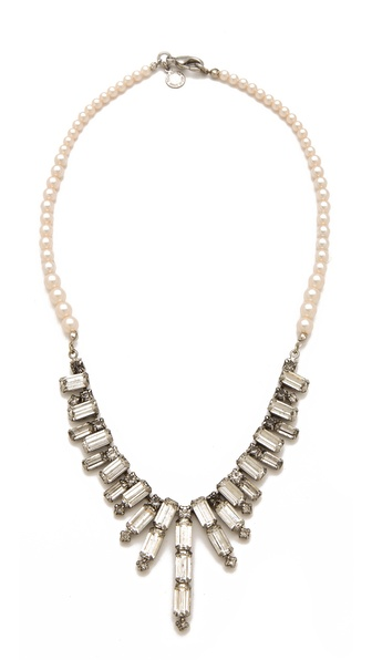 TOM BINNS Regal Rocker Bib Necklace