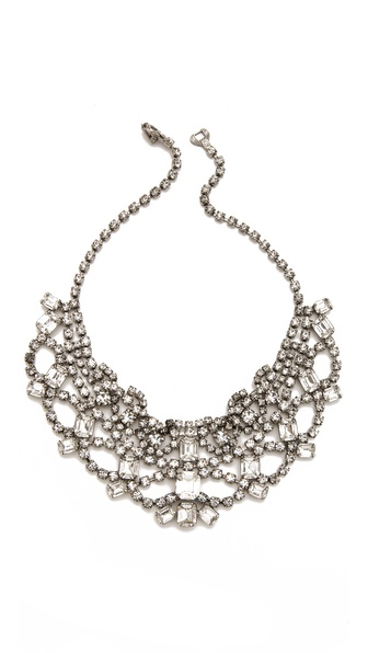 TOM BINNS Madame Dumont Bib Necklace